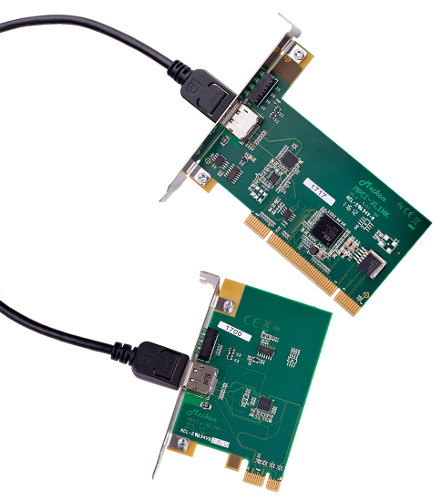 The xLINK boards.